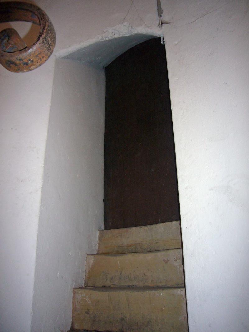 Eingang zum Dachgewölbe