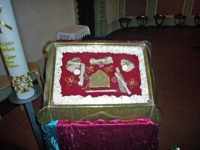 Reliquie des hl. Paulinus